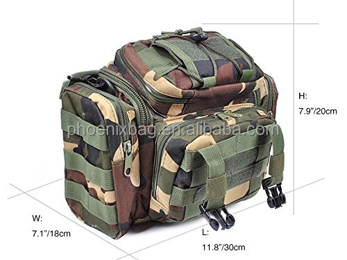 Multi-purpose fishing tackle bag, made of water-resistant 900D oxford fabric