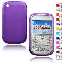 cellphone tpu case (gross outside,mette in side) for Blackberry curve 8520/9300
