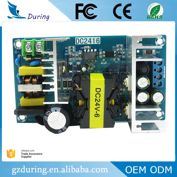 open frame 150w WX-DC2416 24v 6a electrical equipment power supply