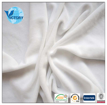 Heavy cotton/Polyester White Velour Fabric