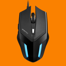 METOO 968 2400 DPI wired optical 6d gaming mouse for computer
