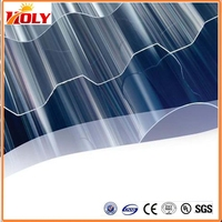 Light diffuser UV poly roof sheeting china,polycarbonate corrugated sheet FOR roofing