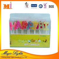 Party Decoration Personalized Romantic Wax Hollow Candles With High Class Certificates