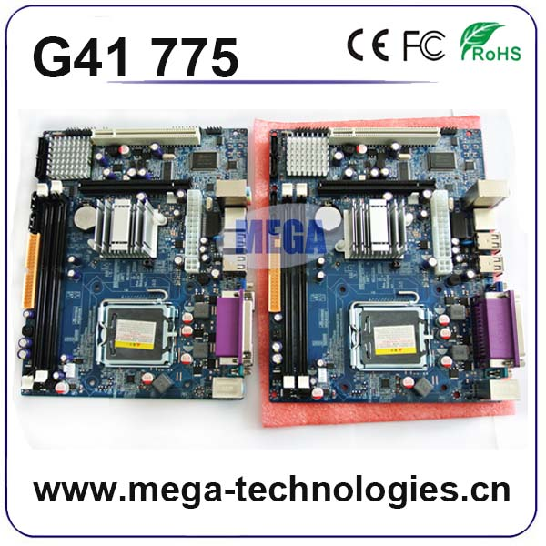 2016 Cheap mainboard G41 motherboard lga775 ddr3 pin