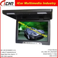 "Manufacture! 19"" 12v/24v optional FM IR USB/SD MP5 TV ceiling digital tv"