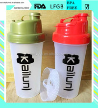 wholesale PP protein shaker bottle classical style with custom logo