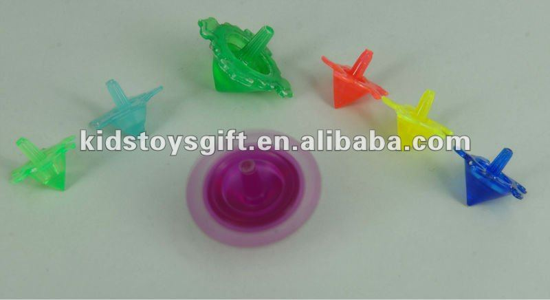 Mini top Plastic Tie-Dyed Spin Tops,Spinning top,classtic children toy
