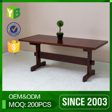 Yibang Environmental Modern Carb Certificate Mdf Italian Style Alanda Coffee Vintage Cafe Tables