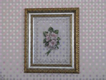 capodimonte with frame