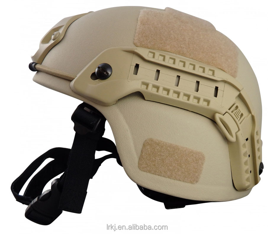 light weight kevlar military bullet proof level 4 ballistic helmet
