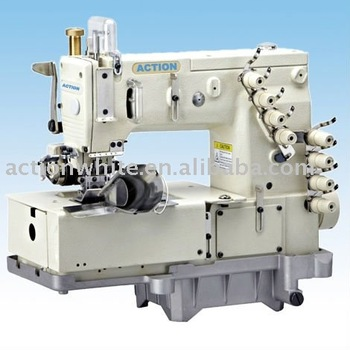 4 needle flatbed double chainstitch sewing machine for waisband AT1508P