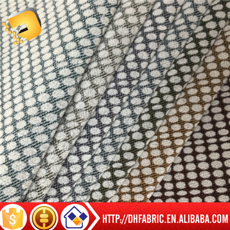 Sofa Cushion Fabric,100% Polyester Knitted Fabric jacquard mesh of factory