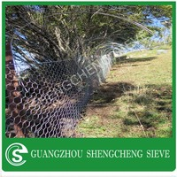 Sturdy hexagonal shape rabbit cages gabion box with best price