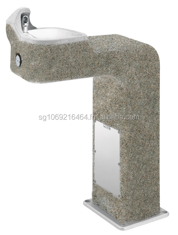 HAWS BarrierFree Concrete Pedestal Fountain 3177