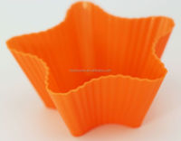 Resuable and Eco-friendly silicone cupcake mould and baking cups
