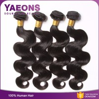 Xuchang hair factory 100% virgin remy body wave italian 100 human hair weave brands