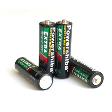 China Factory Non-rechargeable R6 Zinc Carbon Battery 1.5v AA