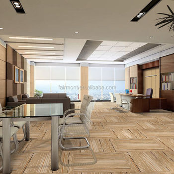 Printed Carpet Tiles for Office / 100% PP Carpet Tiles with Bitumen Backing for Office, Hotel CZ-02