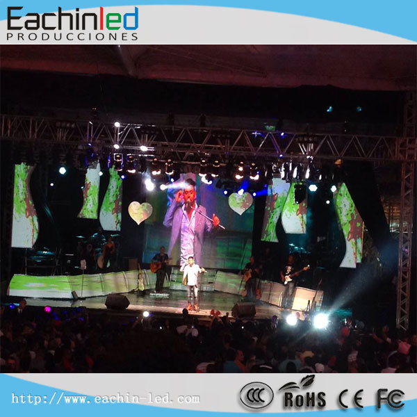 transparent led screen/stage background