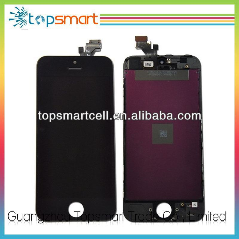 "Wholesale For Iphone 5"" Lcd And Digitizer,Accept paypal"