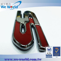 Superb quality customized chrome finish metal car brands logo names
