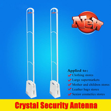 Hot New crystal Acrylic eas anti shoplifting antenna RF eas anti-theft for clothing supermarket Retail security eas rf Products