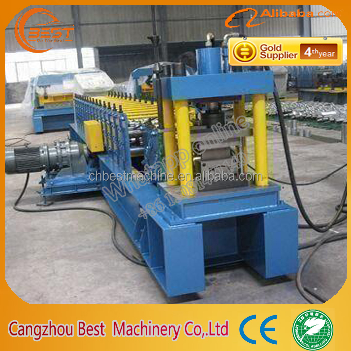 Drywall Galvanized Light Steel Profiles Metal Stud/Track Roll Forming Machine ud cd uw cw