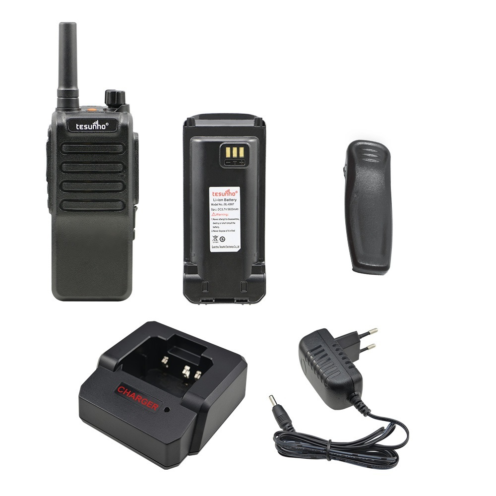 professional radio walki talki rechargeable security global talk sos wifi IP 3g smart ptt