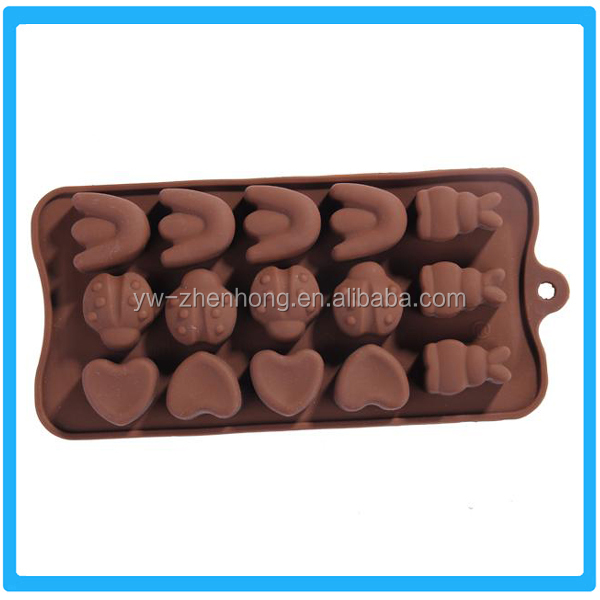 Most Promotional Chocolate Tray Insect Shape Cake Mold Silicone Dessert Mold