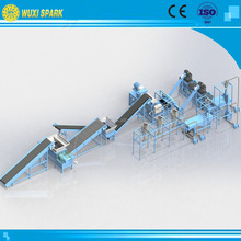 Granulator line to make rubber crumb as the raw material for floor tiles