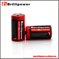 Authentic brillipower aw18350 800mAh 3.7v li-iom rechargeable dry battery