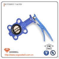 pn16 cast iron globe valve straight type