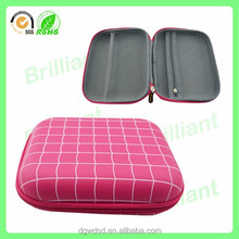 Fashion pink wash eva travel bag for cosmetic