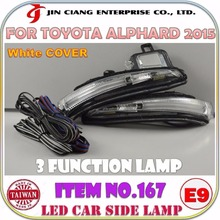 HIGH POWER Guide LED REAR VIEW SIDE LAMP FOR TOYOTA ALPHARD 2015