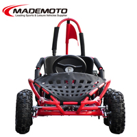 80cc Lifan engine clear to mind adjustable molded bucket seat with secure seat belt system off-road go kart