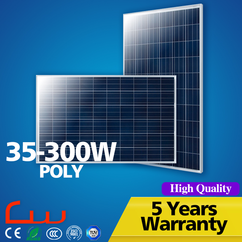 5 Years Warranty New Eholesale 35 Watts Solar Panel 280W