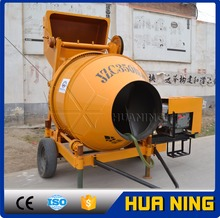 JZC series mobile portable concrete mixer Diesel Hydraulic Hoist Hopper