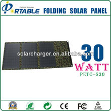 Factory Outlet Wholesale 30W custom made charger solar bag