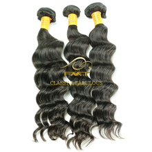 China Hair Vendor Wholesale 1B Natural Color Hair Extension Peruvian Brazilian Indian 100% Remy Human Hair