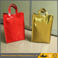customized printed pvc tote plastic packaging bags with printed your own company's logo brand