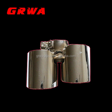 High Quality Auto Parts Exhaust Muffler Tips for Porsche 997
