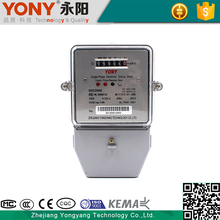 Active Measurement High Quality Single Phase Electronic Energy Power Meter