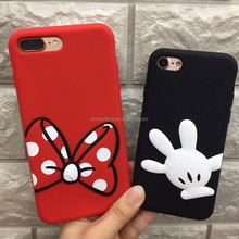 New Arrival Bow print Back Phone Case Cover for Apple iphone 5/SE/6s+/7/8/8X