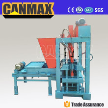 building material concrete hollow adobe laying block machine