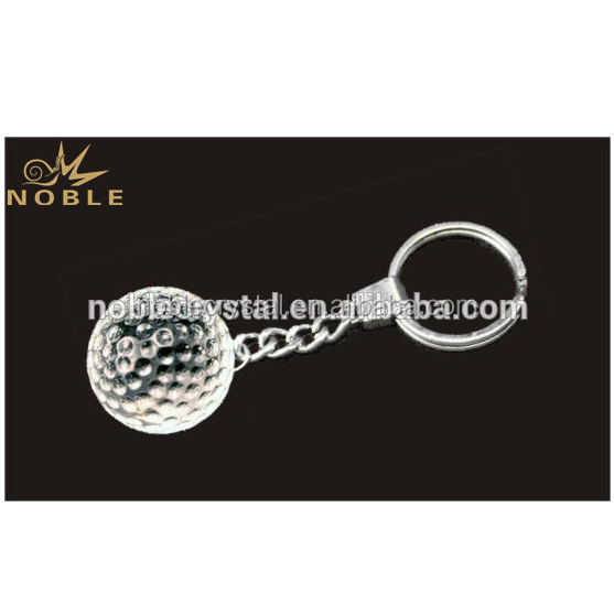 Noble Golf Sports Souvenir Gifts Crystal Smart Key Chain