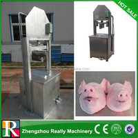 hot sale in this year industrial pig head meat cutting machine