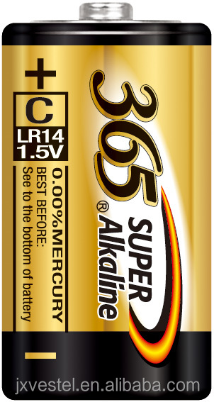 365 super alkaline C / LR14 / AM2 battery