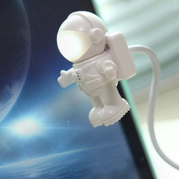 New! lovely The astronaut Led light Usb night light for power bank ,Astronaut shape Portable mini USB light