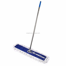 On Cotton floor cleaning stick mops /dust mops with stainless steel stick For House/Hotel