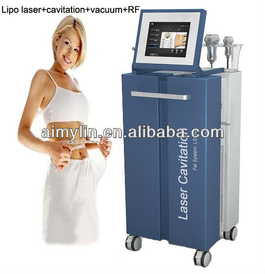 2014 newest 4 in 1 multifunction lipo laser vacuum cavitation LS650